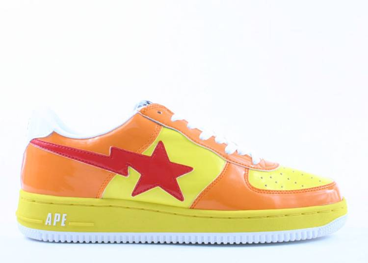 Bapesta FS-001 Low 'Yellow Orange'