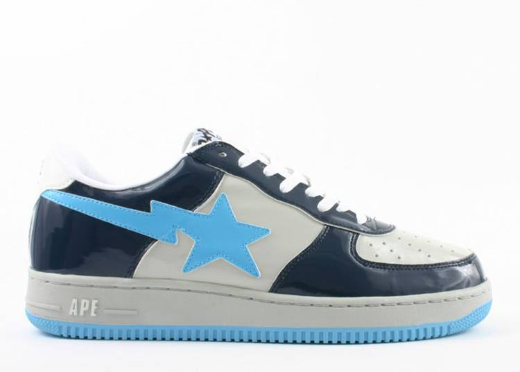 Bapesta FS-001 Low 'Navy Gray'