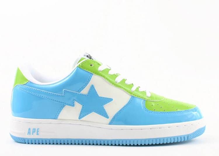 Bapesta FS-001 Low 'Green Sax'