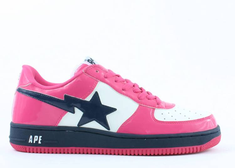 Bapesta FS-001 Low 'Hot Pink Navy'