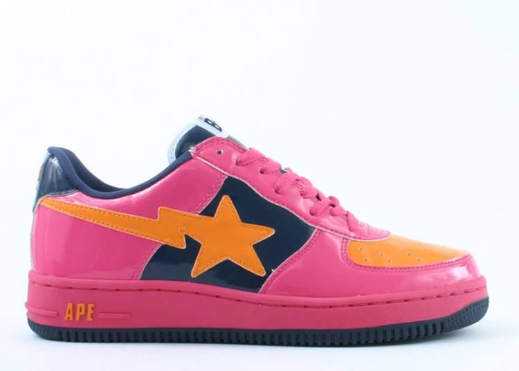 Bapesta FS-001 Low 'Navy Pink'