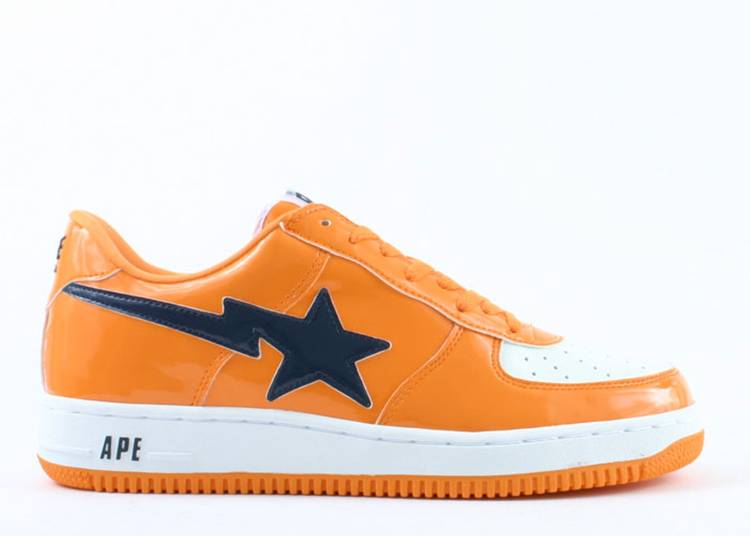 Bapesta FS-001 Low 'Orange Navy'