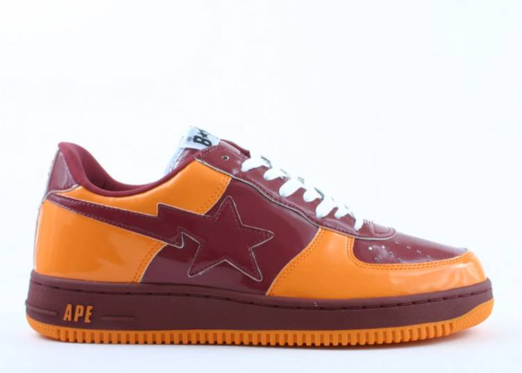 Bapesta FS-001 Low 'Orange Brown'