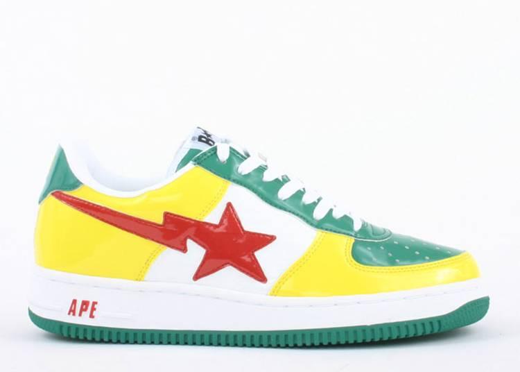 Bapesta FS-001 Low 'Yellow Green'