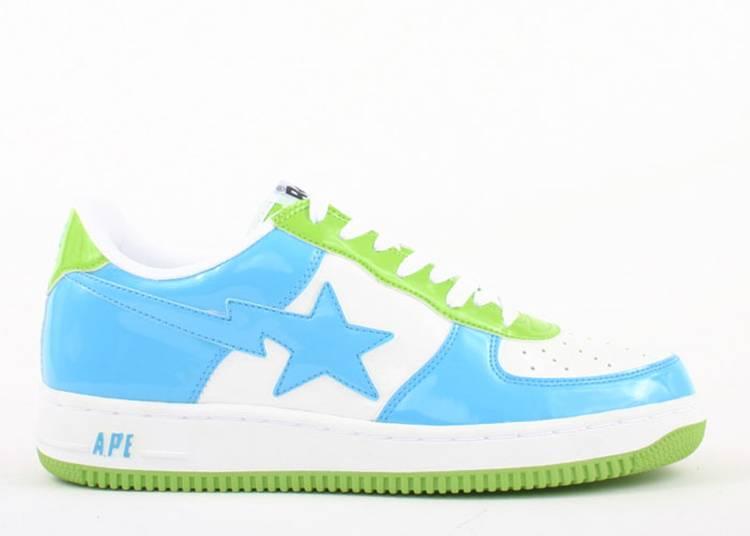"bapesta fs-001 ""Blue Green"""