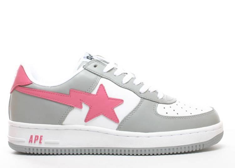 Bapesta FS-001 Low 'Grey Pink'