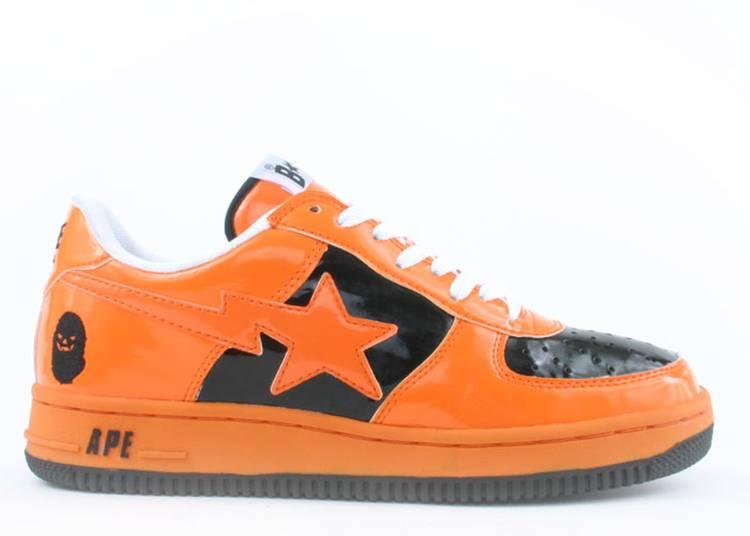Bapesta FS-001 Low 'Halloween - Orange Black'