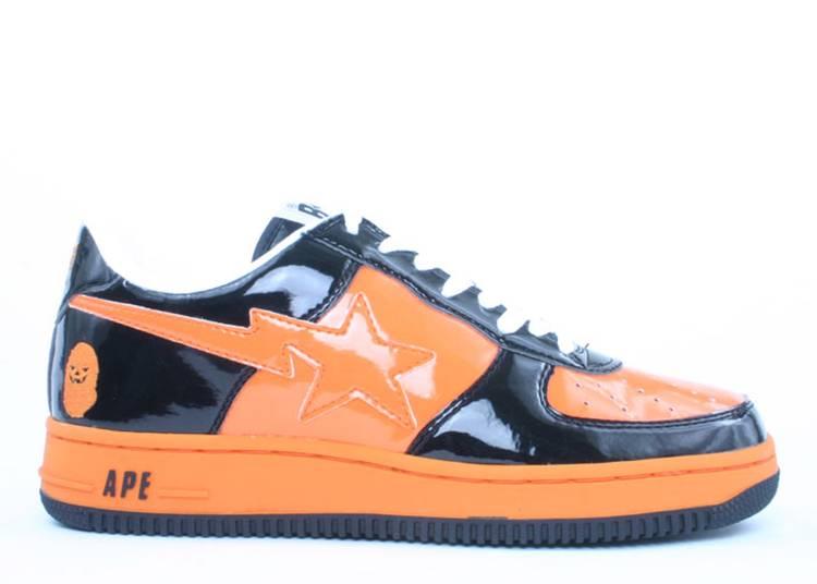Bapesta FS-001 Low 'Halloween - Black Orange'