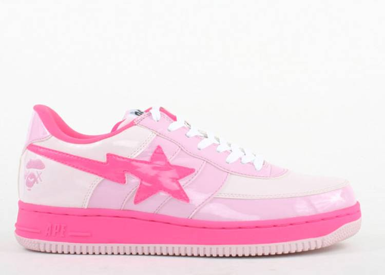 Bapesta FS-029 Low 'Pink'