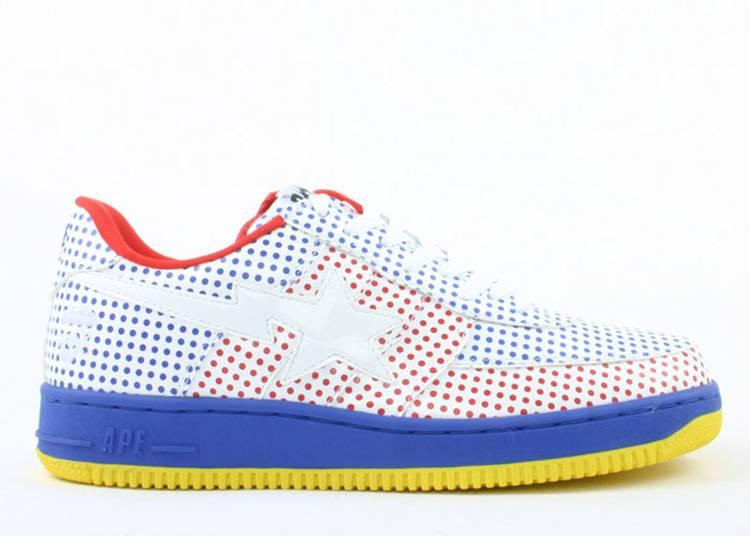 Bapesta FS-029 Low 'Red Blue'