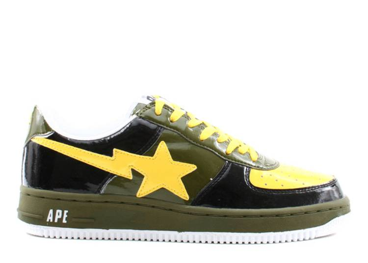 Bapesta FS-001 Low 'Black Yellow' 2005