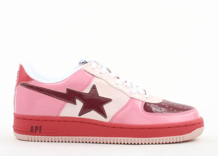 Bapesta FS-001 Low 'Pink Red'