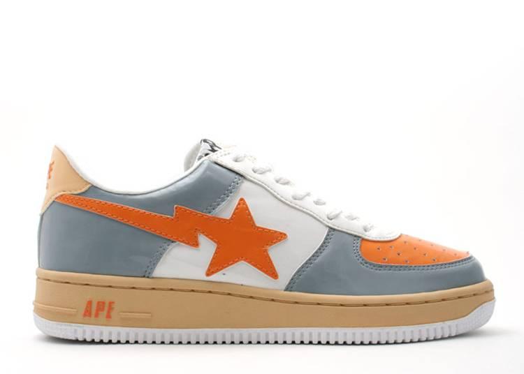 Bapesta FS-001 Low 'Orange Gray'