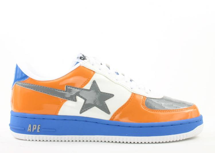 Bapesta FS-001 Low 'Light Blue Orange'