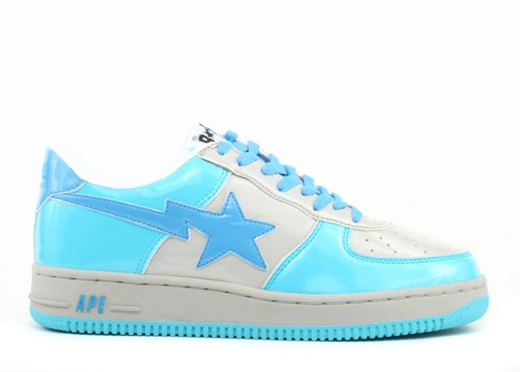Bapesta FS-001 Low 'D1 - Light Blue Grey'