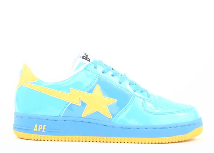 Bapesta FS-001 Low 'Blue Yellow'