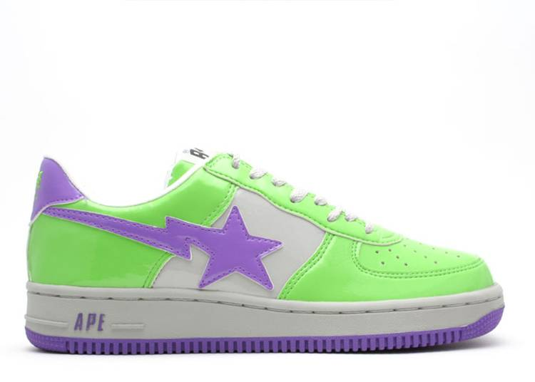 Bapesta FS-001 Low 'Green Purple'