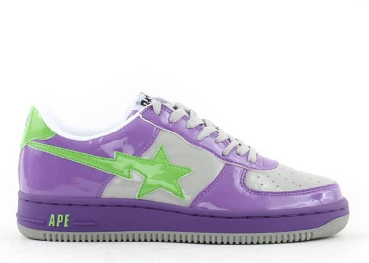 Bapesta FS-001 Low 'D8 - Purple Green'
