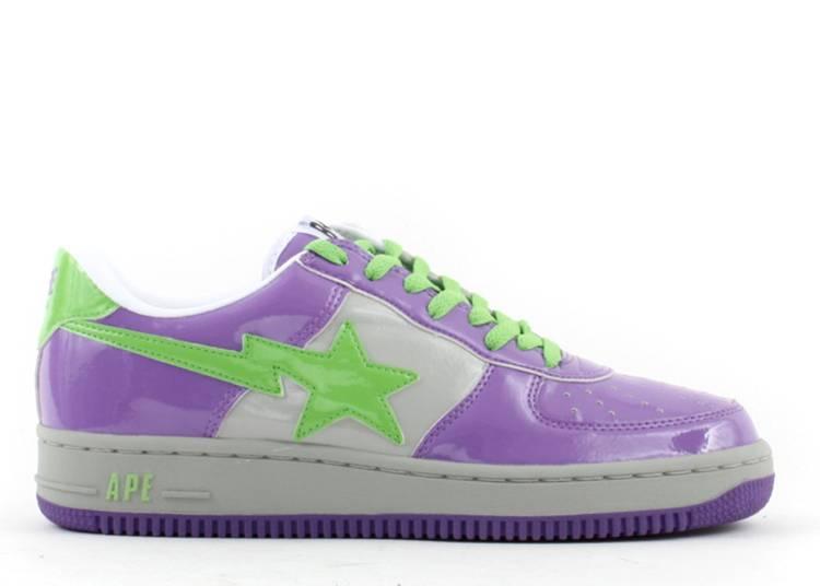 Bapesta FS-001 Low 'D9 - Purple Green'