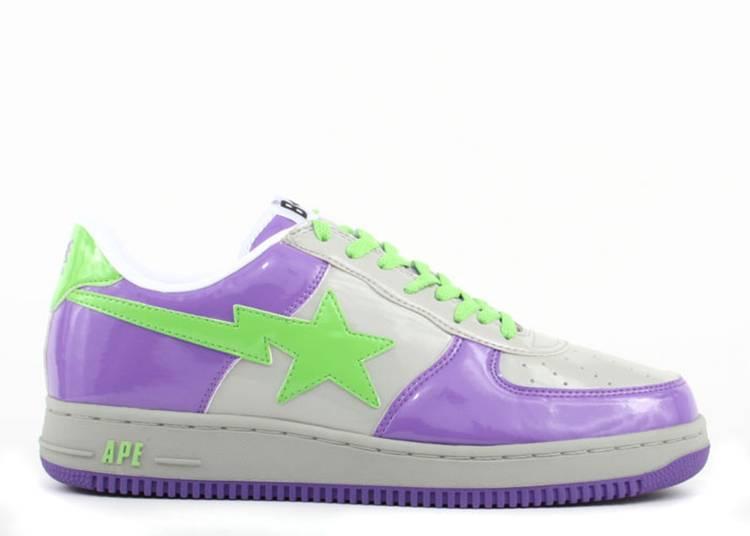 Bapesta FS-001 Low 'D10 - Purple Green'