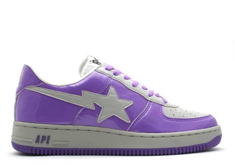 Bapesta FS-001 Low 'D11 - Purple Grey'