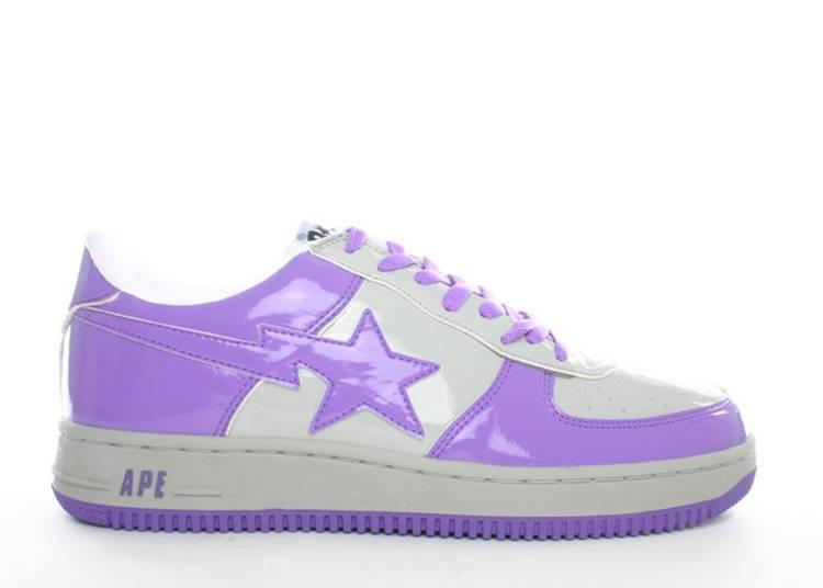 Bapesta FS-001 Low 'Purple Grey'