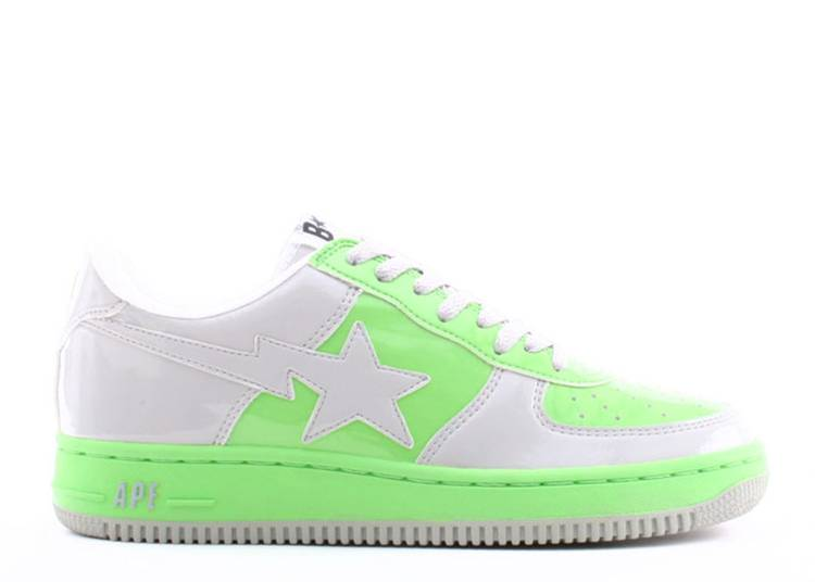 Bapesta FS-001 Low 'D13 - White Green'