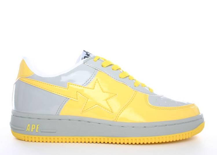 Bapesta FS-001 Low 'Yellow Grey'
