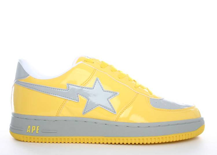 Bapesta FS-001 Low 'Yellow'
