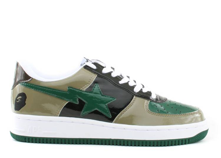 Bapesta FS-001 Low 'Olive Green'