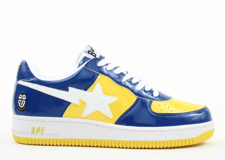 Bapesta FS-001 Low 'Yellow Navy Blue'
