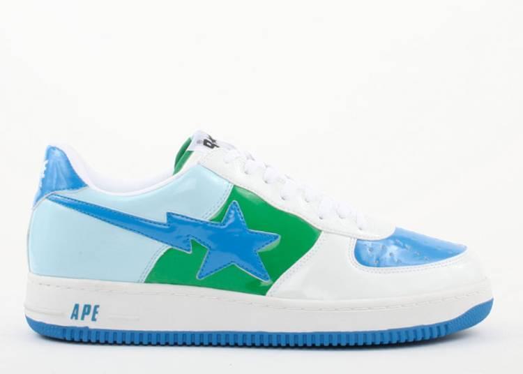 Bapesta FS-001 Low 'White Blue Green'