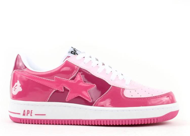 Bapesta FS-001 Low 'Hot Pink'