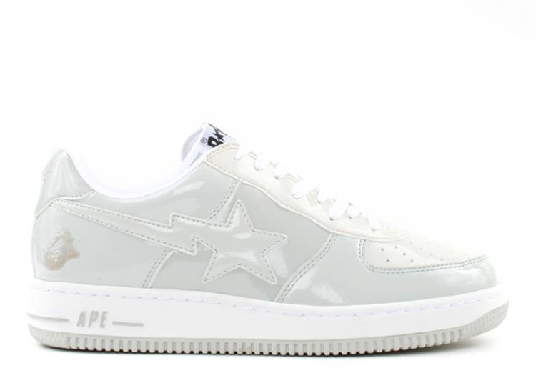 Bapesta FS-001 Low 'White Light Grey'