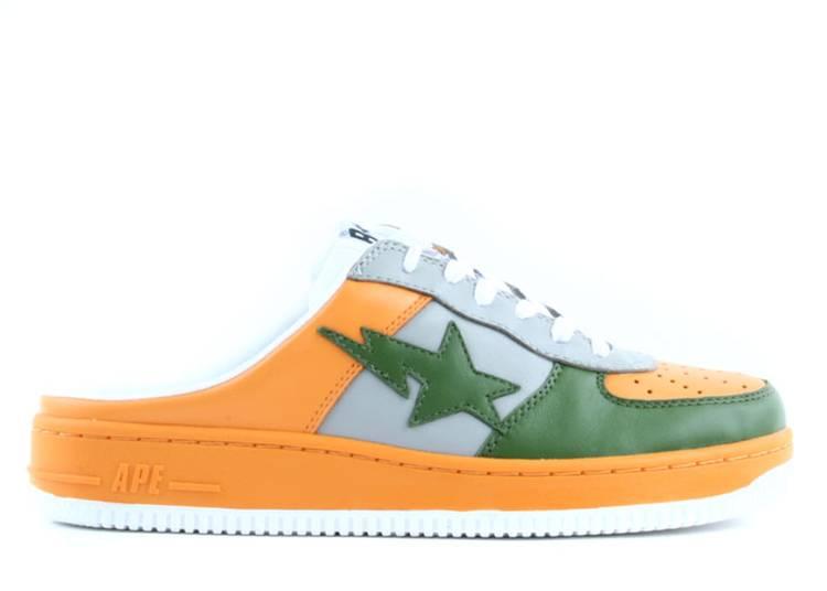 Bapesta Slip-On FS-030 Low 'Orange Green'