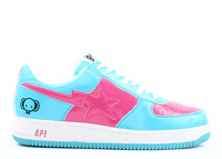 Bapesta FS-001 Low 'Light Blue Pink'