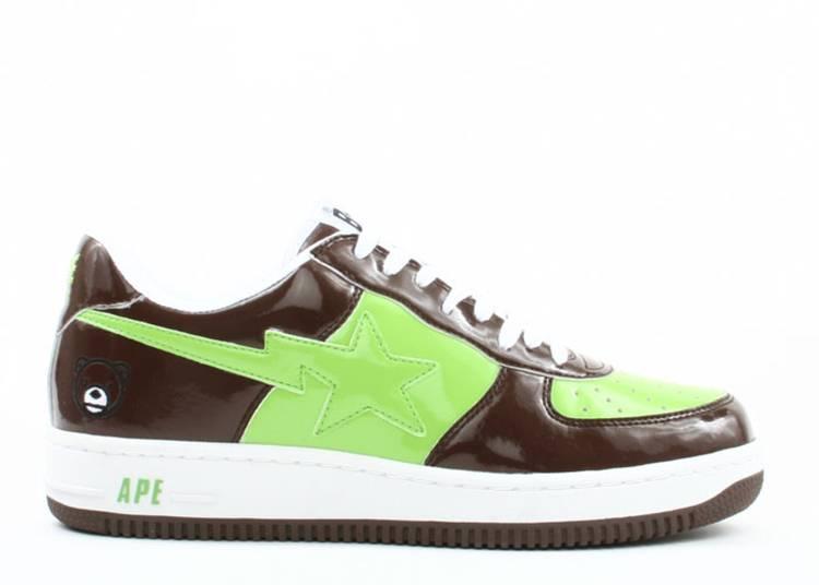 Bapesta FS-001 Low 'Brown Green'
