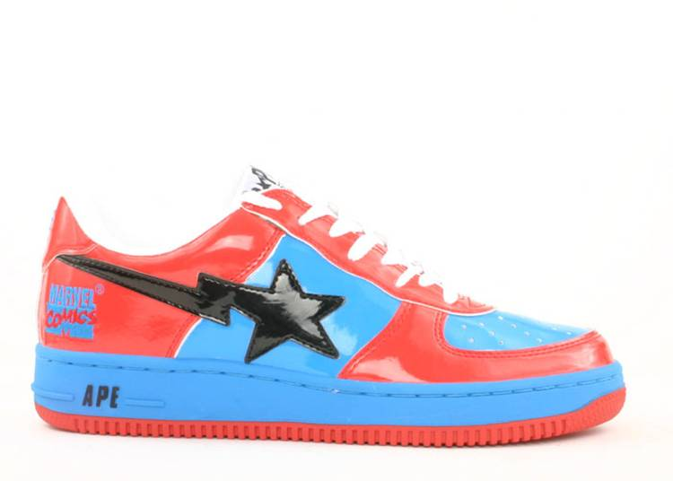 Marvel Comics x Bapesta FS-001 Low 'Spider Man'