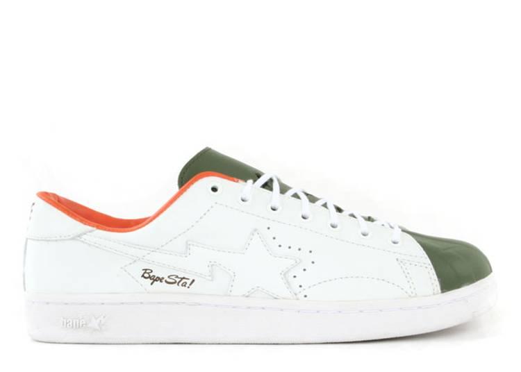 Bapesta FS-021 Low 'Green Orange'