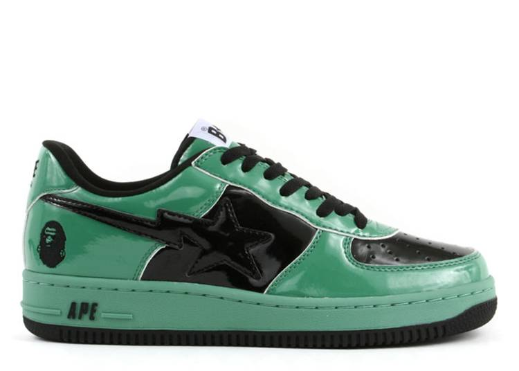 Bapesta FS-001 Low 'Halloween - Green Black'