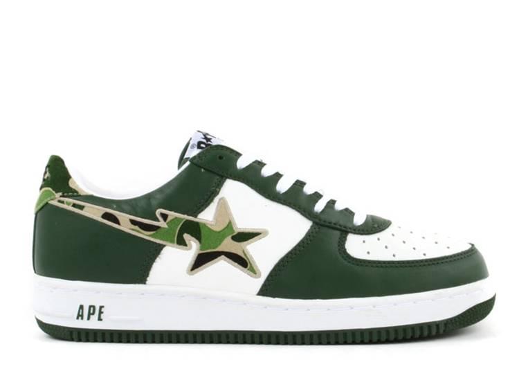 Bapesta FS-001 Low 'Green Camo'