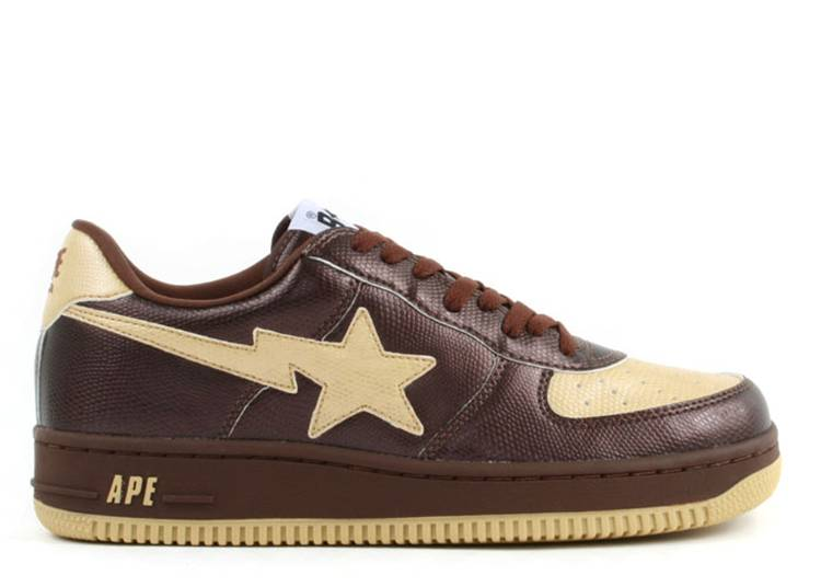 Bapesta FS-001 Low 'Brown Beige'