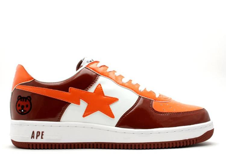 Bapesta FS-001 Low 'Brown Orange'