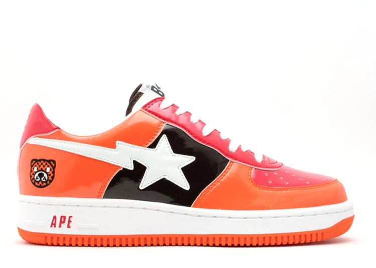 Bapesta FS-001 Low 'Orange Red'
