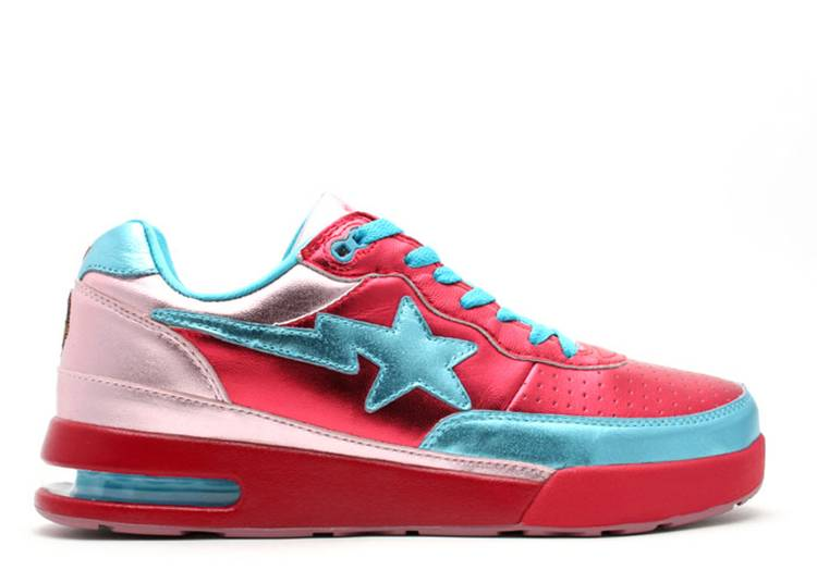 Pharrell x Roadsta FS-034 Low 'Red Blue'