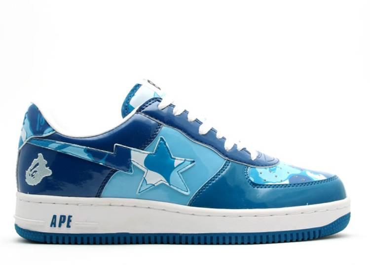Bapesta FS-001 Low 'Blue Camo'