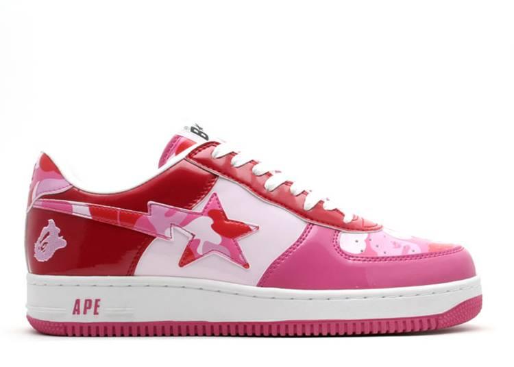 Bapesta FS-001 Low 'Pink Camo'