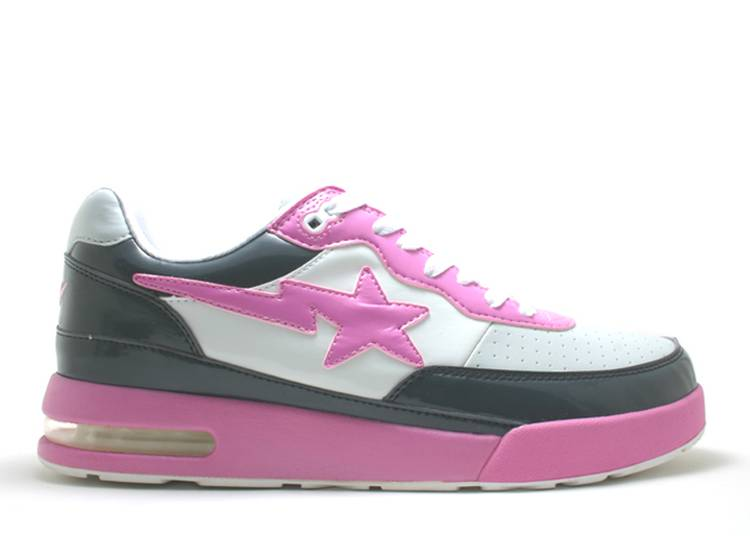 Bapesta FS-034 Low 'Pink Gray'