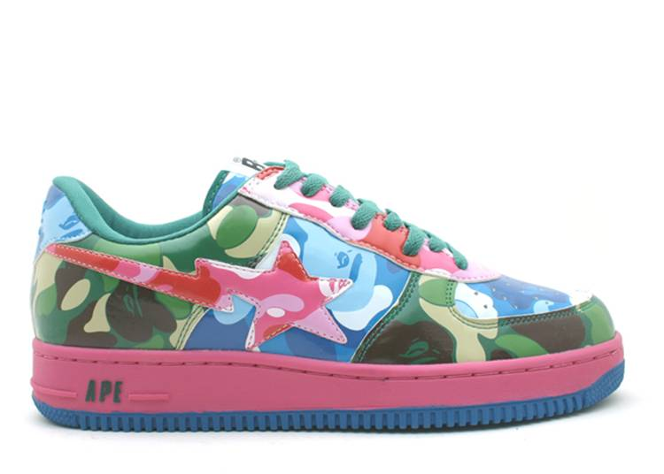 Bapesta FS-001 Low 'Mix'