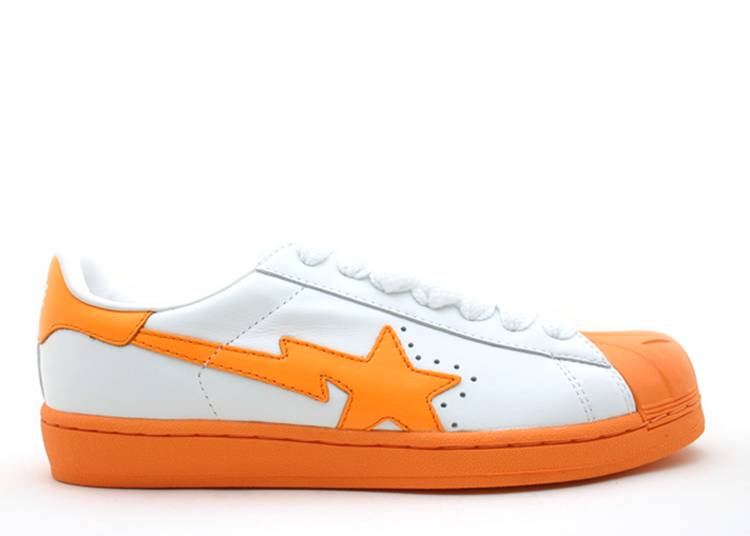 Bapesta FS-004 Low 'White Orange'